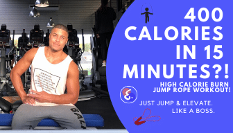 HIGH-CALORIE BURN Jump Rope Workout – 400 Calories in 15 minutes!