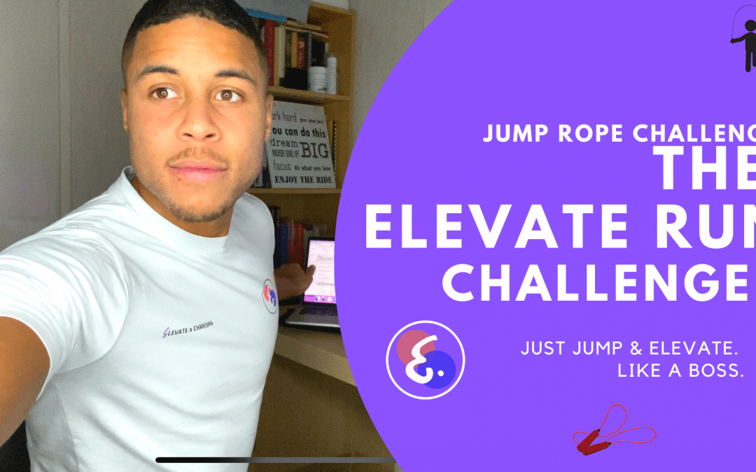 The Elevate Run Challenge! – Jump Rope Challenges #ElevateChallenges