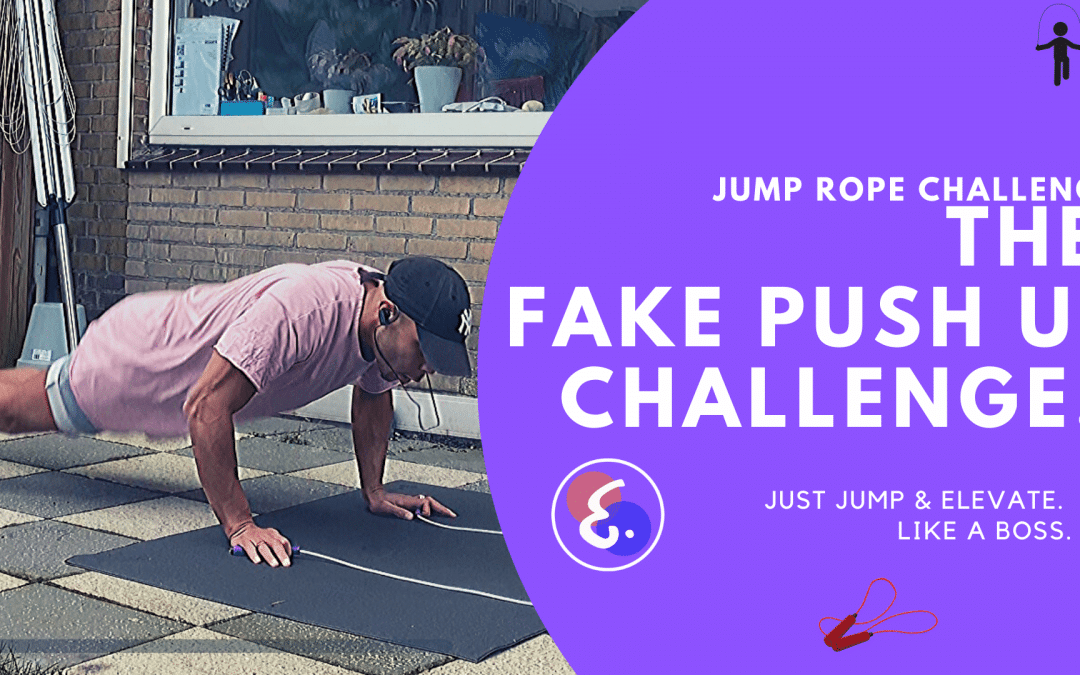 The Fake Push up Challenge (10x) – Jump Rope Challenges #ElevateChallenges