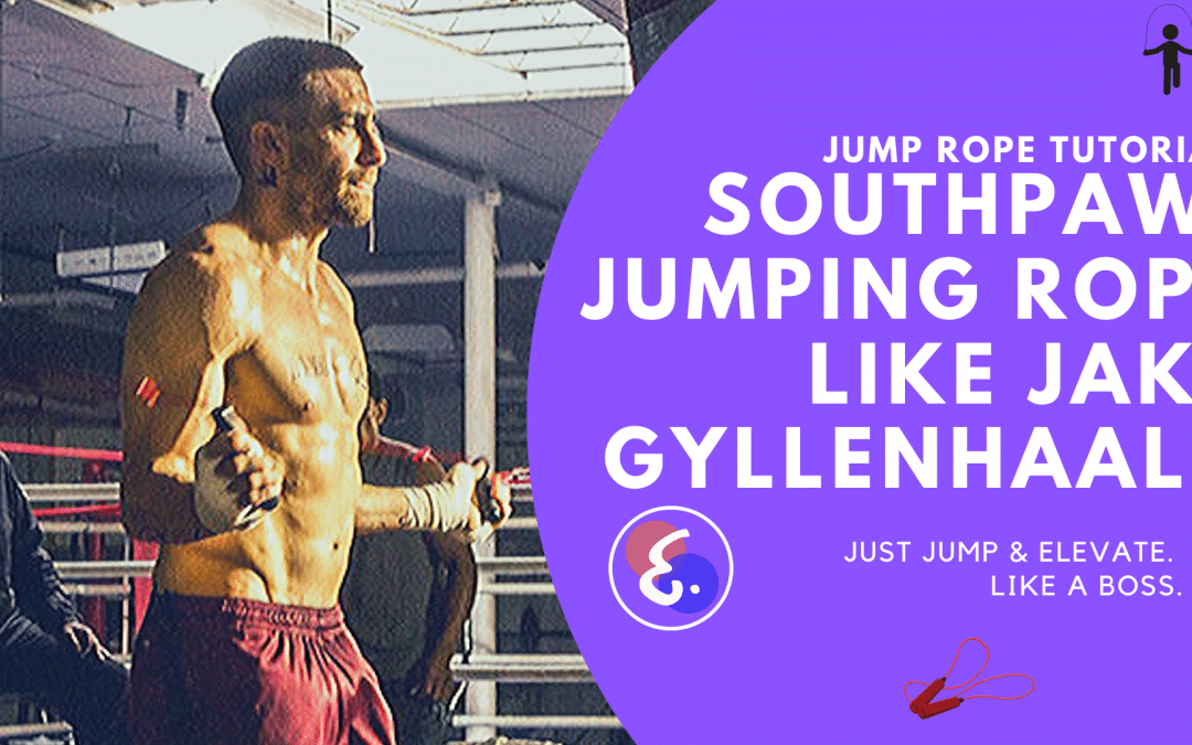 HOW TO JUMP ROPE like JAKE GYLLENHAAL (2020) – Jump Rope Southpaw Drill REVEALED!