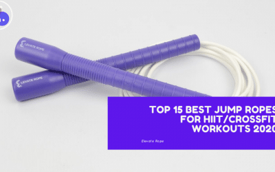 TOP 15 BEST JUMP ROPES FOR HIIT/CROSSFIT WORKOUTS 2020
